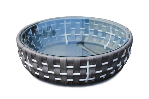 22914 Strips Coffee Table  L:104 O:104 H:32 cm