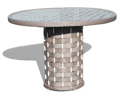 22902 Strips Round Table L:100 O:100 H:75 cm